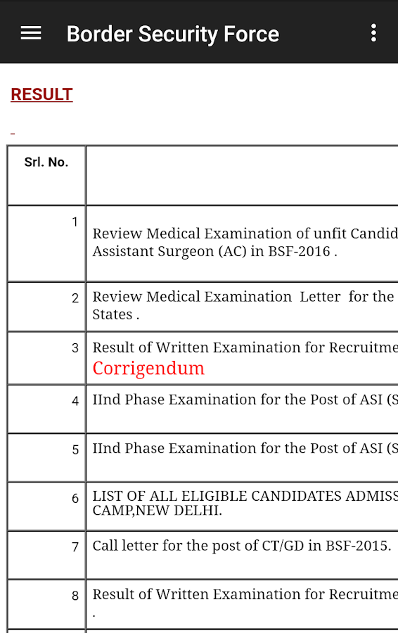 bsf pay slip apps download 2019
