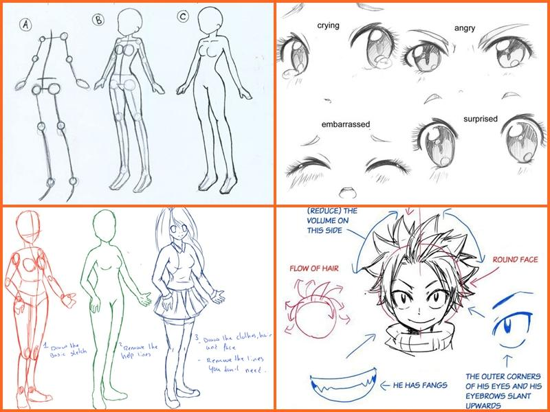 Drawing Anime Step By Steps 10 Screenshot 5