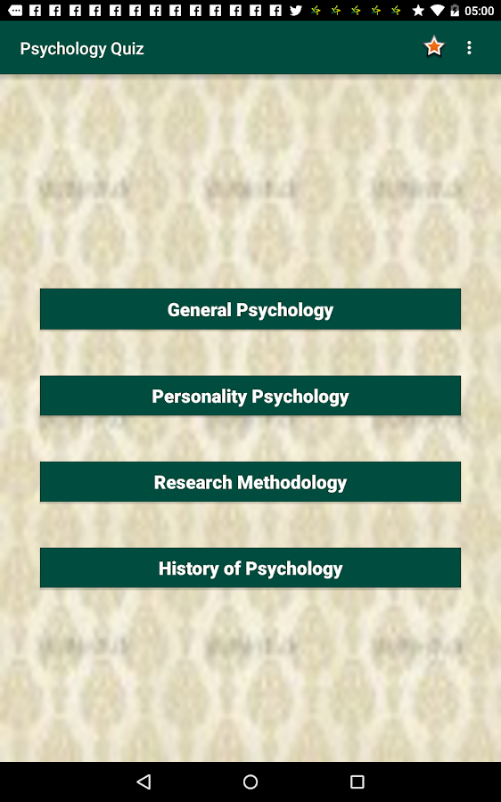 psychology quiz 1