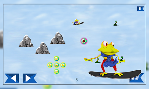 Super Froggy Ski : Snow Fun + 1.0 screenshot 4