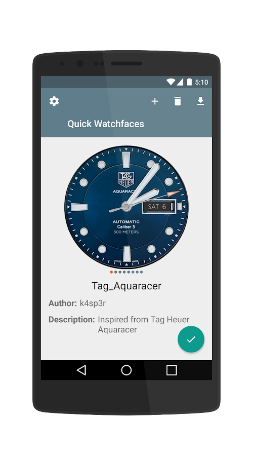 Quick Watchfaces (LG G4) 1 0 2 APK Download - Android Tools Apps