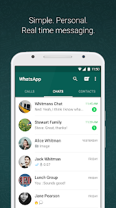 WhatsApp Messenger 2.18.380 screenshot 1