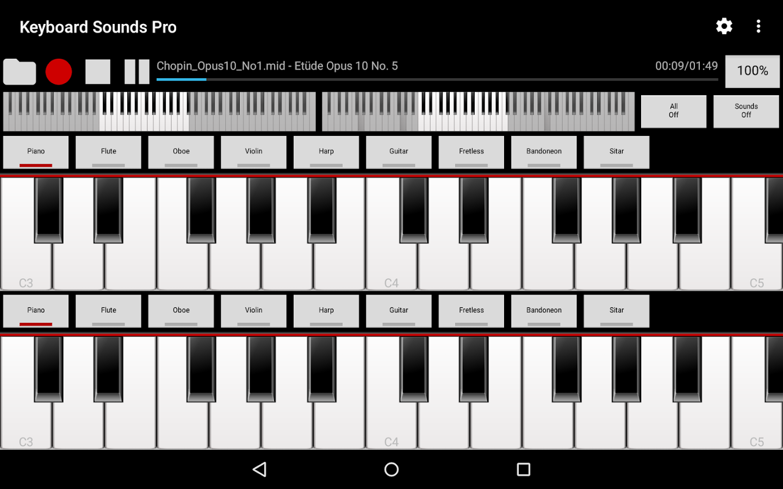 how to i return sound to keyboard