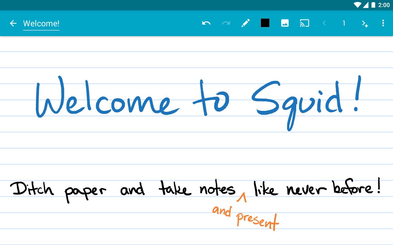 Squid Take Notes Amp Markup Pdfs 3 3 2 0 Gp Apk Download