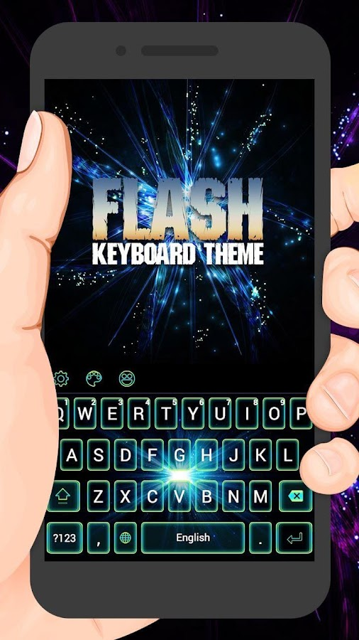 a68e2dd2ecf Flash Night Keyboard Theme 1.1.4 APK Download - Android ...