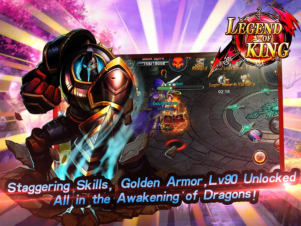 Legend of King:Dragons 7.0.0 APK Download - Android Role Playing Games