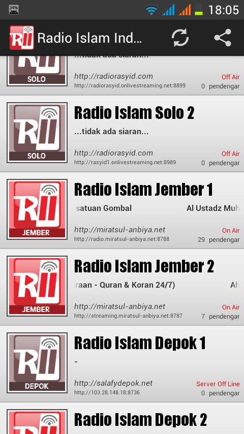 radio islam indonesia 1 1 screenshot 1