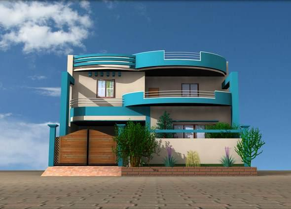 3D Home Exterior Design Ideas 1.0 APK Download - Android Lifestyle ...