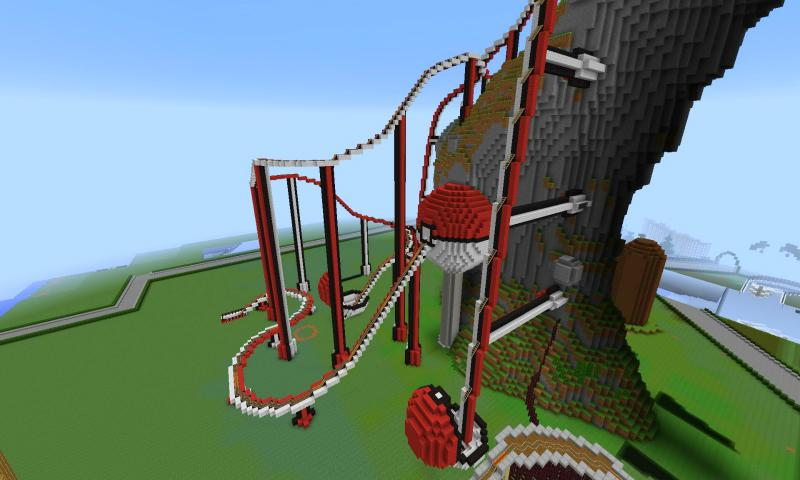 giant roller coaster minecraft download