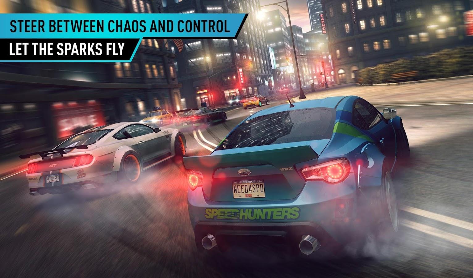 Скачать Need For Speed No Limits на Андроид Взломанную