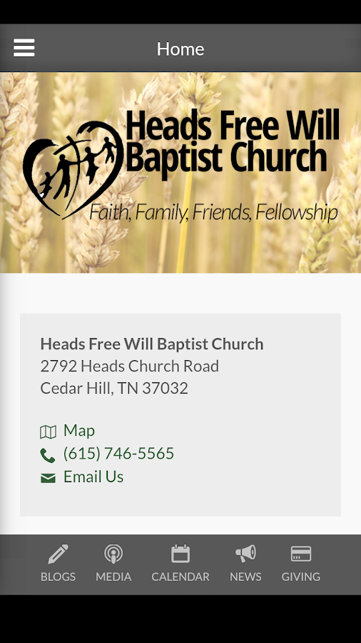 Heads FWB Church - Cedar Hill, TN 1.3.0 APK Download - Android ... on