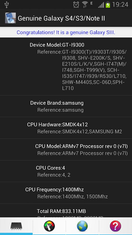 genuine galaxy - phone info 1.5.1 apk download - android tools apps, Haus und garten