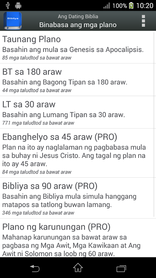 Ang dating biblia free download for iphone 8