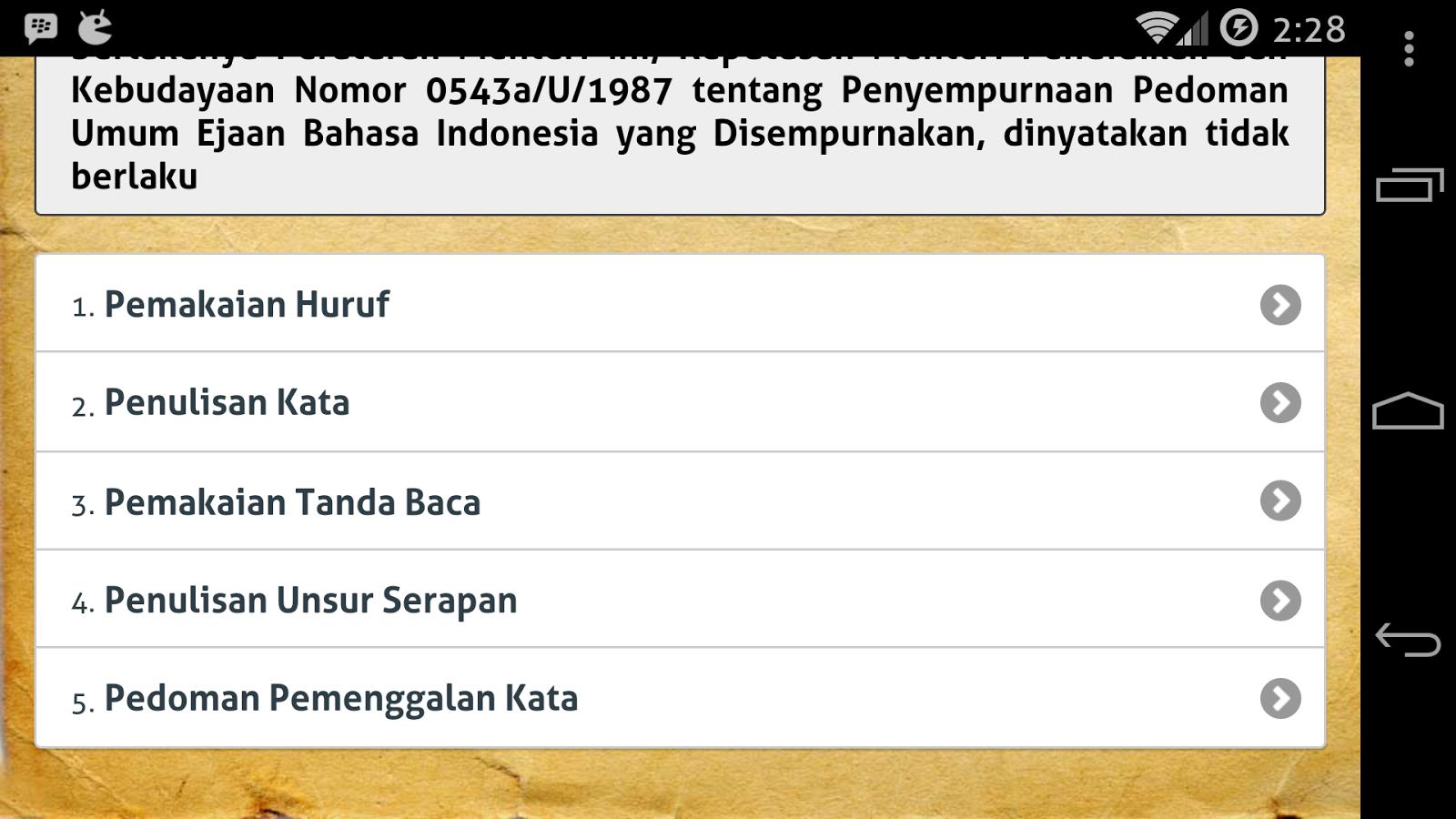 Eyd Dan Tata Bahasa Indonesia