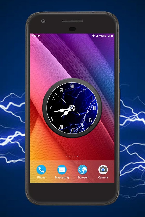Electric Clock Live Wallpaper 1 0 Apk Download Android