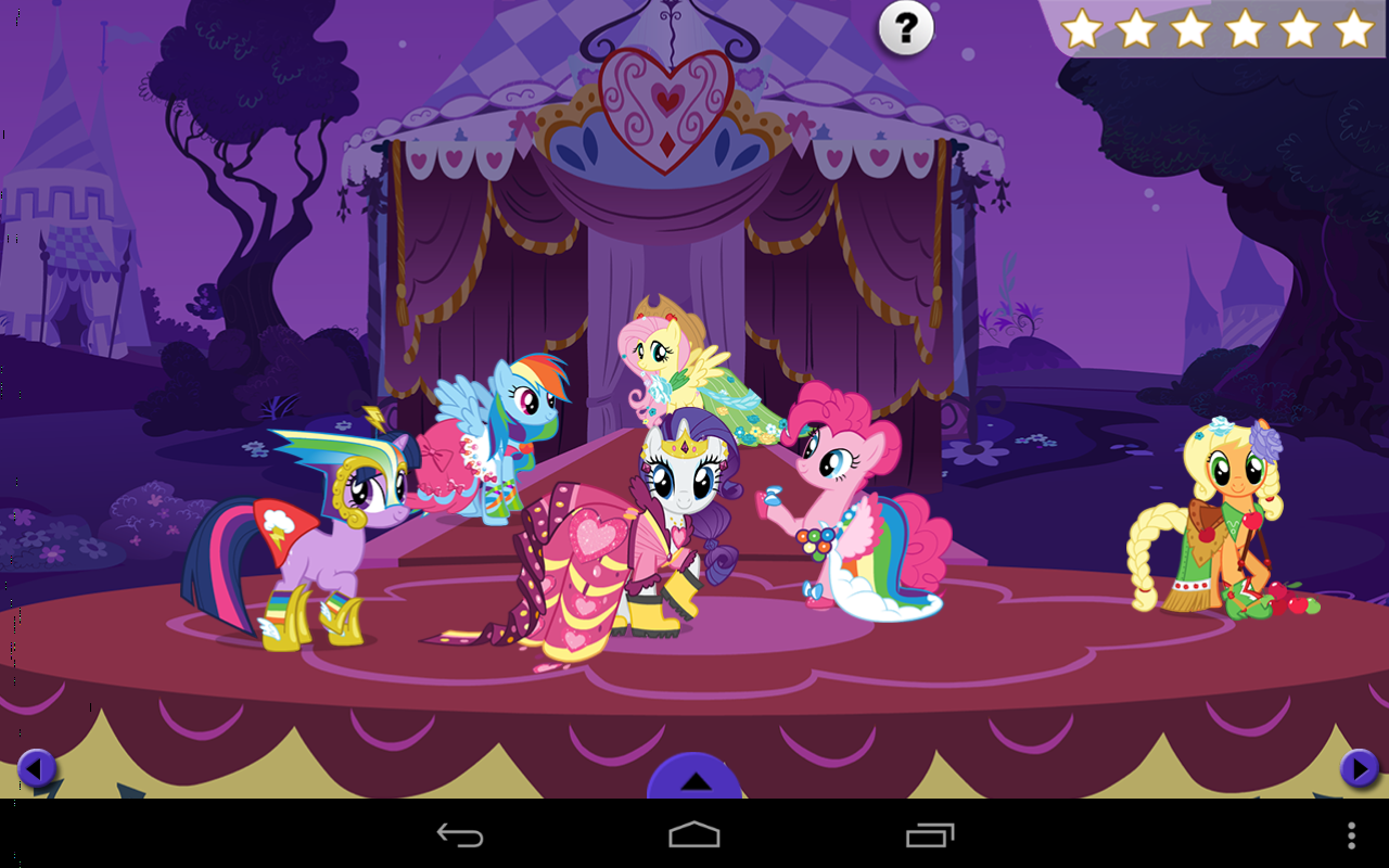 My Little Pony Rarity Fashion 1 0 2 Apk Download Android Education Apps