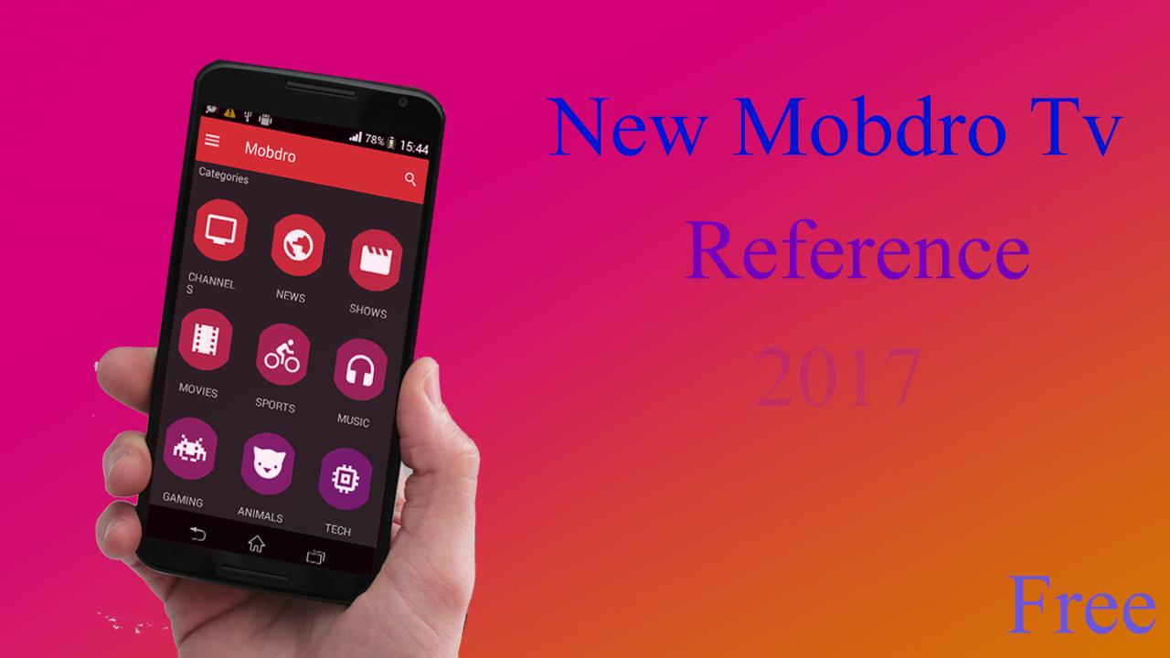 دانلود 🌟 New Mobdro TV 2017 Guide 🌟 4 12 APK - برنامه های