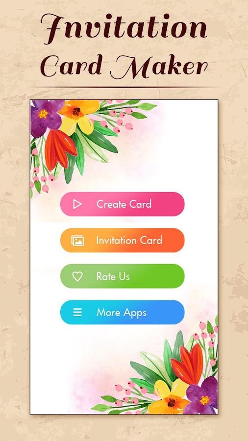 Mobile Invitation Card Maker 1 0 Apk Download Android