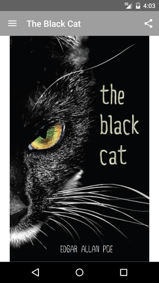 thesis statement on black cat