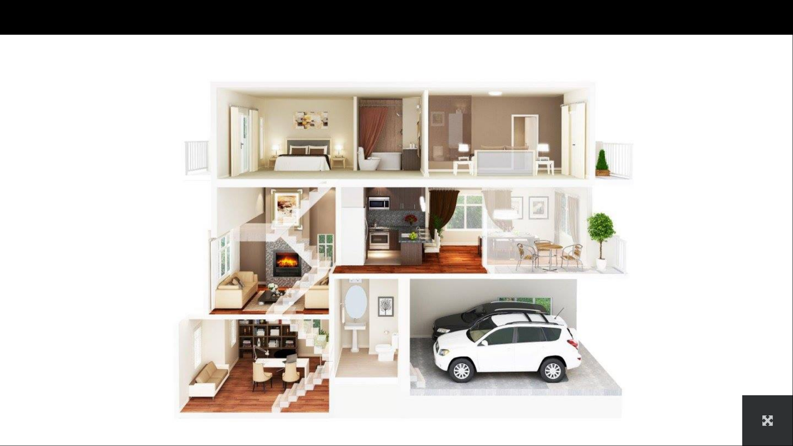 3d house plans 1 2 apk download android lifestyle apps for Plan 3d