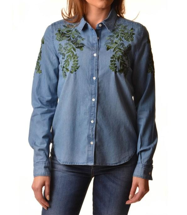 ec89c417d224 Women's Embroidered Denim 6.1 APK Download - Android Lifestyle Apps
