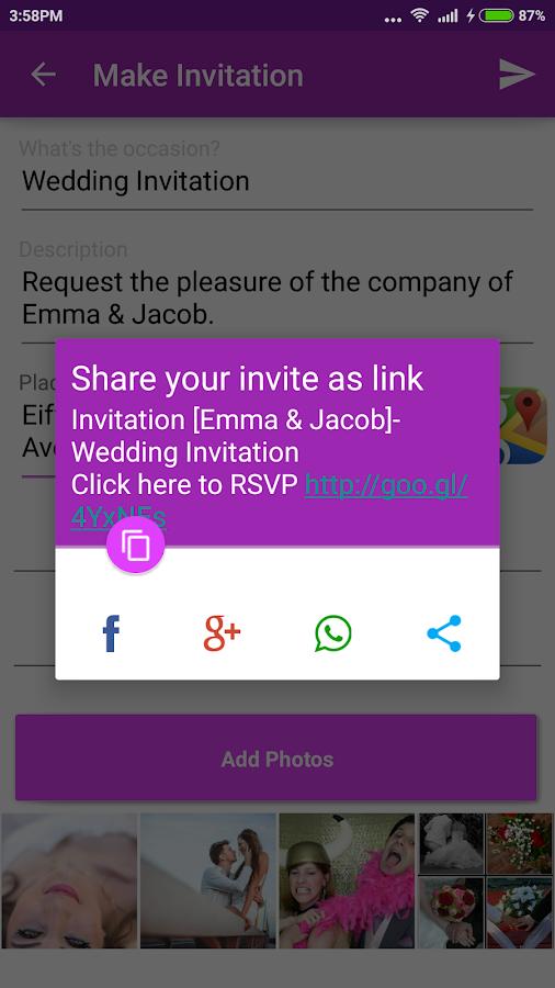 Wedding invitation card maker 50 apk download android wedding invitation card maker 50 screenshot 2 stopboris Images