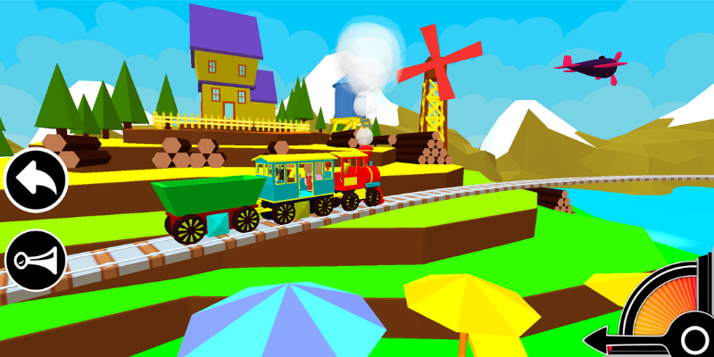 3D Train Engine Driving Game For Kids & Toddlers 1 7 APK