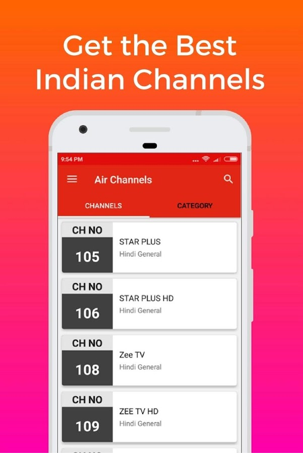 Channels List & online recharge for Dish Tv India 6 0 2 APK
