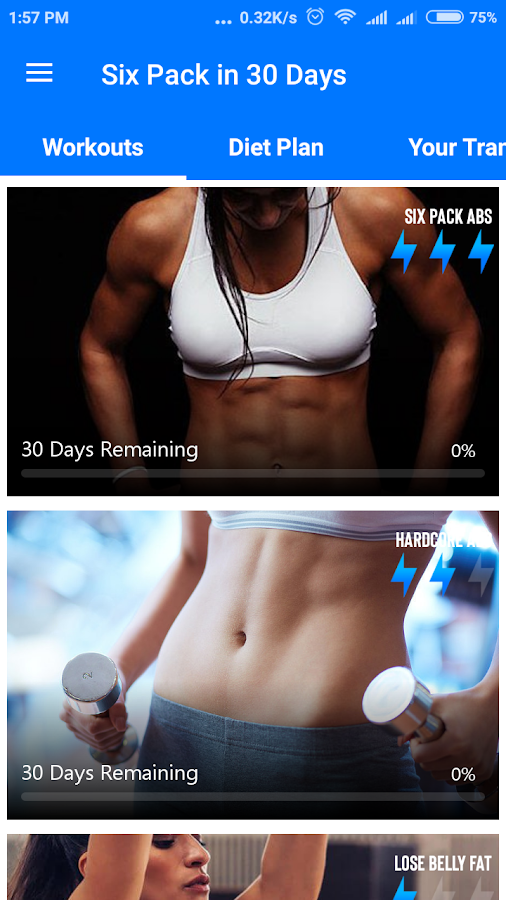 runtastic six pack abs workout pro apk