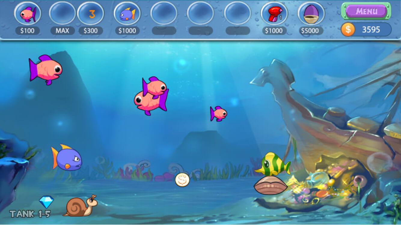 Insaquarium craziest aquarium 4 5 2 apk download for Fish aquarium games