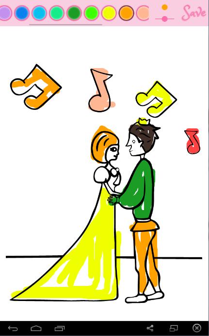 Belajar Mewarnai Princess 1 0 Apk Download Android Educational Screenshot