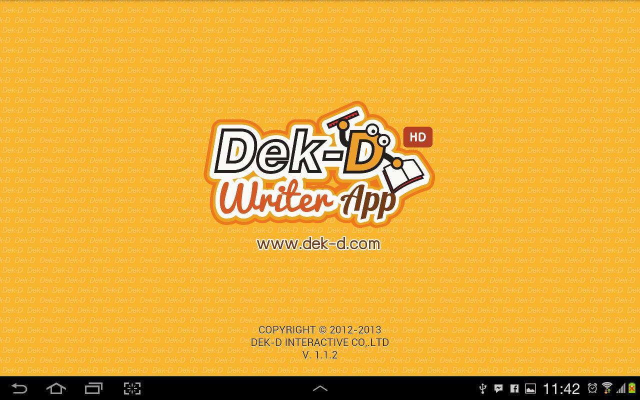 Dek d design poster - Dek D Writer App Hd 1 1 9 Screenshot 1