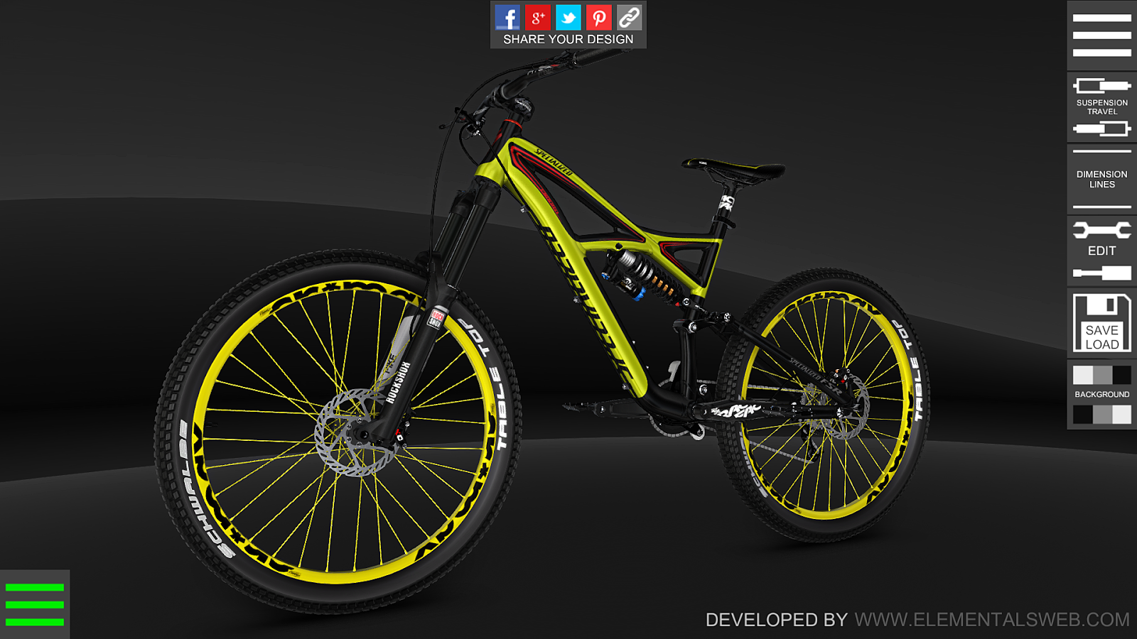 bike 3d configurator 1 5 1 apk download android sports games bike 3d configurator 1 5 1 screenshot 2