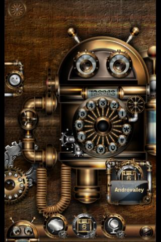 Tsf shell theme steampunk 3 0 apk download android for Steampunk wallpaper home