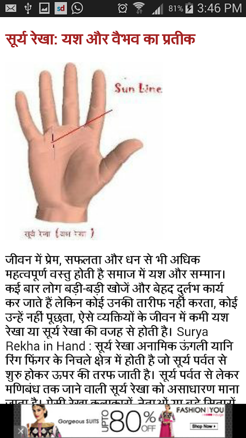 Palmistry-Hast Rekha in Hindi 0.0.1 APK Download - Android ...