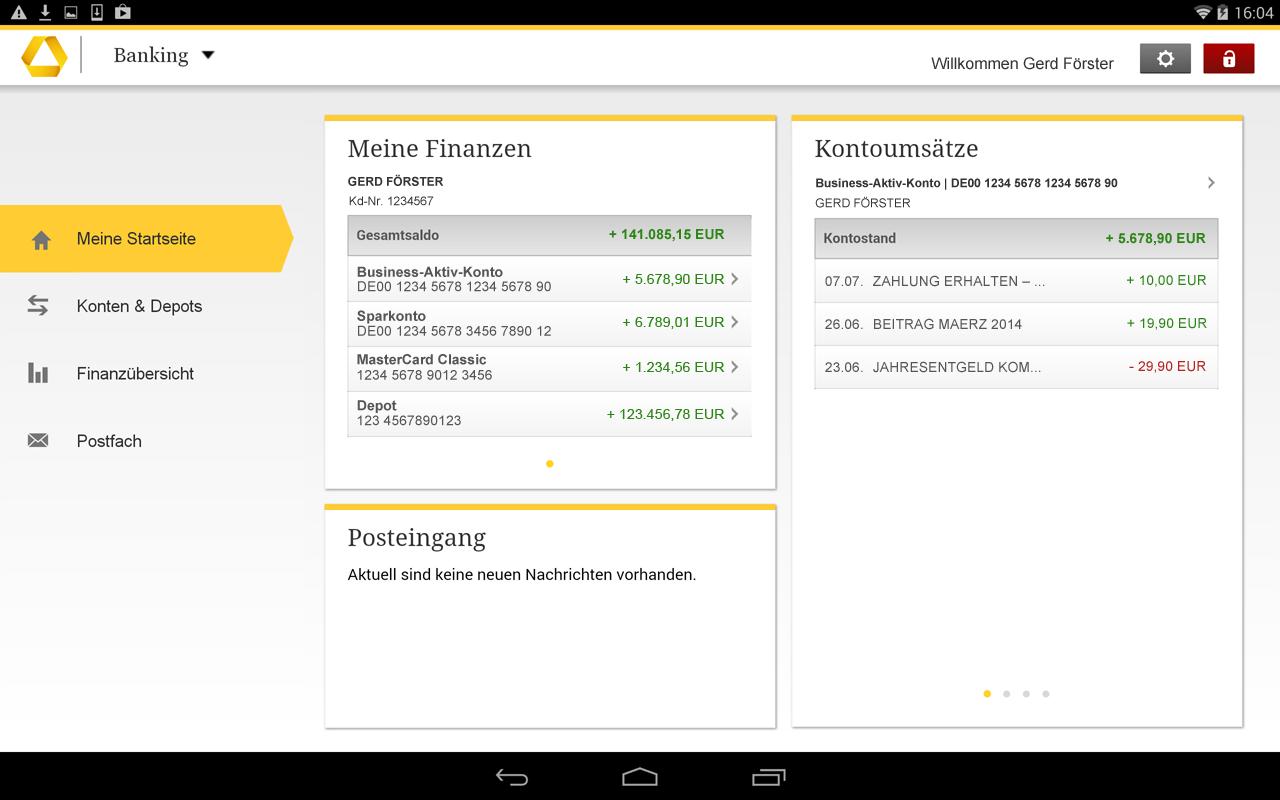 commerzbank tablet banking apk download android finance apps. Black Bedroom Furniture Sets. Home Design Ideas