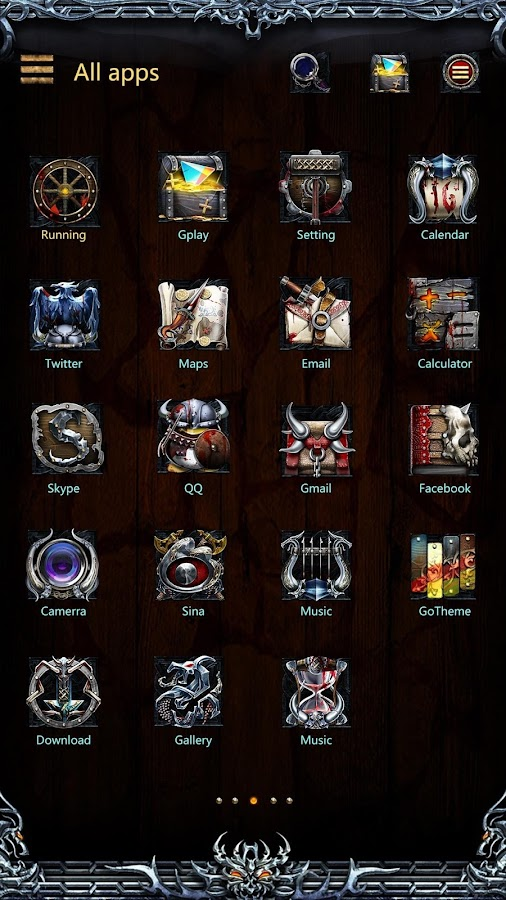 Viking II GO launcher Theme v1.0 APK Download - Android ...