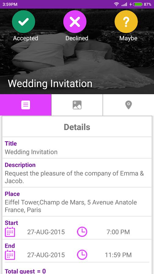 wedding invitation card maker  apk download  android, invitation samples