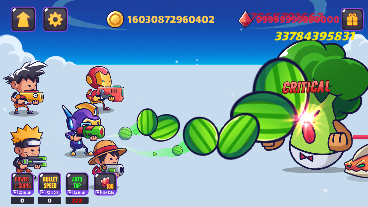 Tap Tap Stickman Heroes - Idle Fruit Monster Fight 1 2 APK