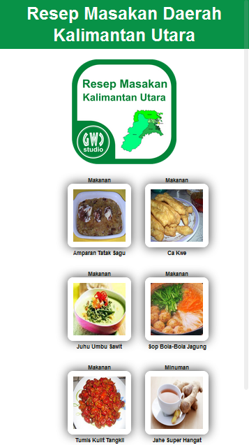 resep masakan kalimantan utara 1 0 apk download android