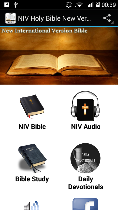 NIV Holy Bible New Version 1 0 APK Download - Android Books