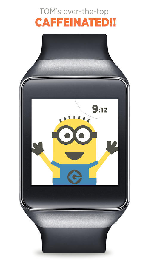 Despicable watch face 1 0 6 apk download android personalization apps for Despicable watches