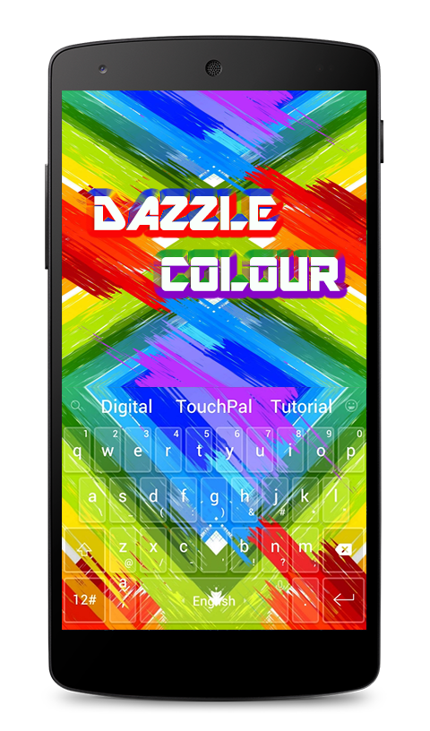 Dazzle Color Keyboard Theme 6 7 1 APK Download - Android Tools Apps