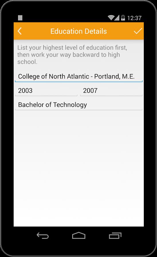 super resume builder pro cv 4 38 apk download android business apps