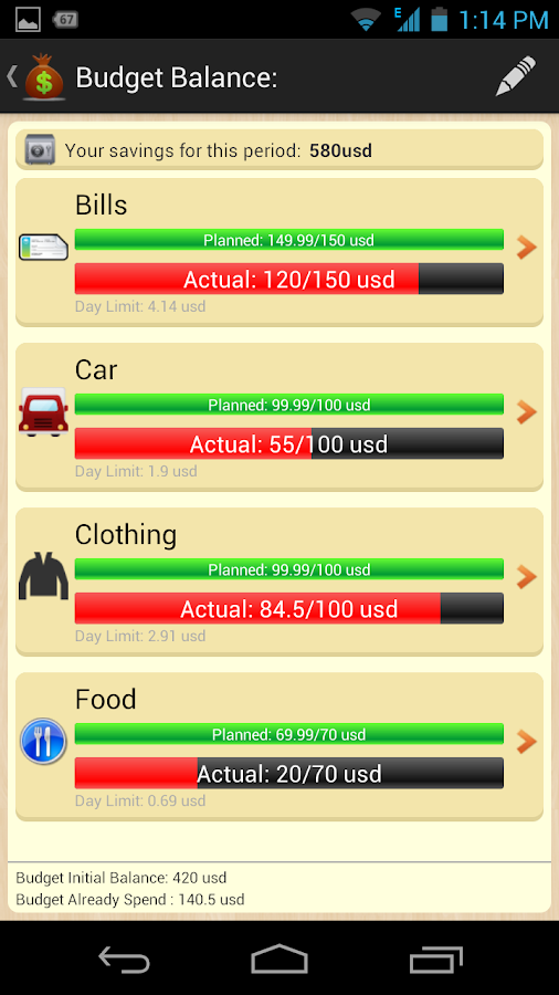 My Money Tracker 9.5 APK Download - Android Finance Apps