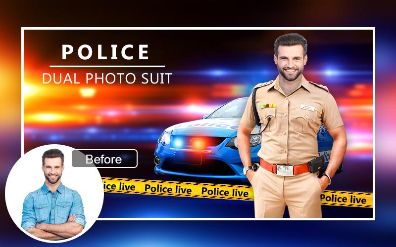 Men Police Suit Photo Editor 1 1 APK Download - Android Photography Apps