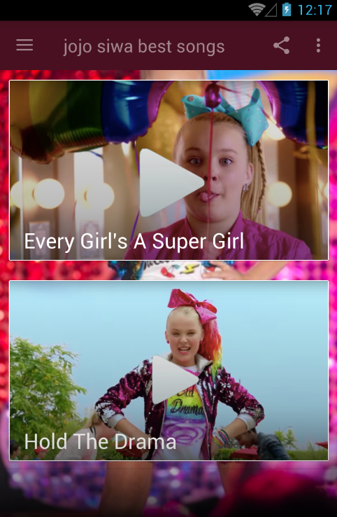 All Songs | Jojo Siwa 1 0 APK Download - Android Lifestyle Apps