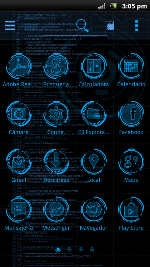 JARVIS MARK Theme v1.0 APK Download - Android ...