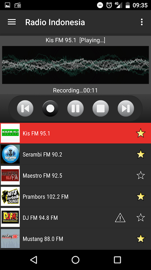 radio indonesia 2 1 0 screenshot 5