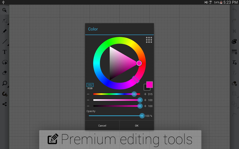 Skedio easy vector drawing 1 8 4 gp apk download for Blueprint sketch app